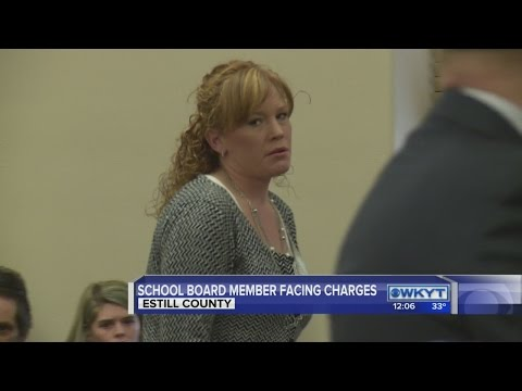 Estill County school board member facing serious charges