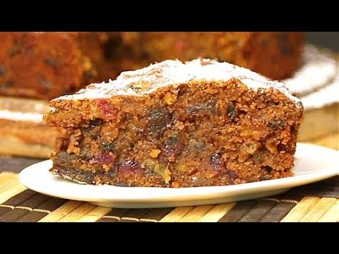 Christmas Cake Recipe | Traditional Plum Cake Recipe | Easy to Make Cake Recipe