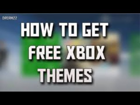 How to download themes in Xbox 360 for free