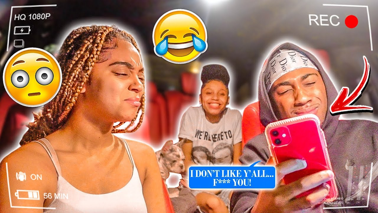 HAVING MY 14 YEAR OLD COUSINS BOYFRIEND DISRESPECT US IN FRONT OF HER... *LOYALTY TEST*