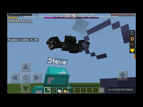 Fighting my friend and the Wither with the new Tridents!!!