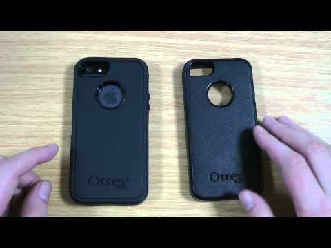Otterbox Defender vs Otterbox Commuter iPhone 5S / 5 Case Review