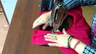 Simple Suit / Kurti Stitching in Hindi tutorial - हिंदी में सूट/कुर्ती सिलाई का सरल  तरीका