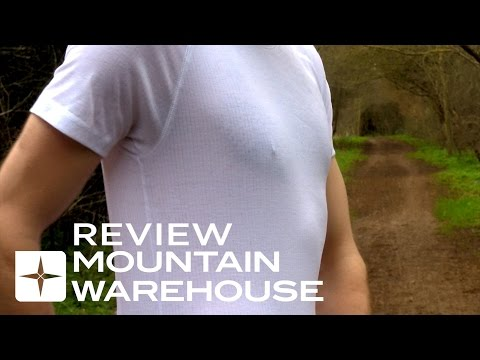 Mountain Warehouse Reviews: Talus Mens Short Sleeved Round Neck Top