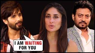 EX Shahid Kapoor PRAISES Kareena Kapoor Irrfan Khan's Angrezi Medium Trailer And Poster