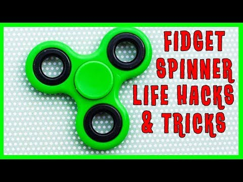 Awesome Fidget Spinner Life Hacks and Tricks