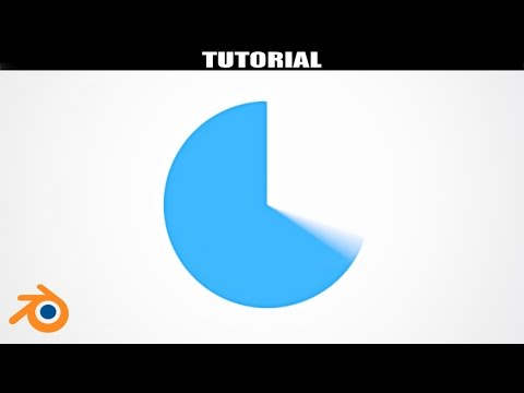 Blender Tutorial - How to make a 2D Circle Motion Graphic for Intros