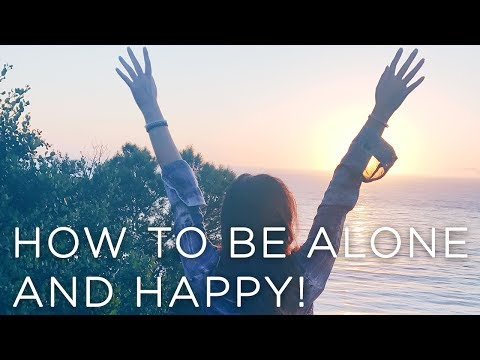 How to be Alone AND HAPPY! | Self-love, Loneliness, + Relationships #LivTalks