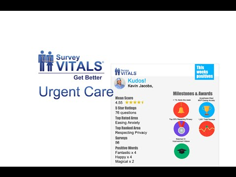 SurveyVitals Urgent Care Overview