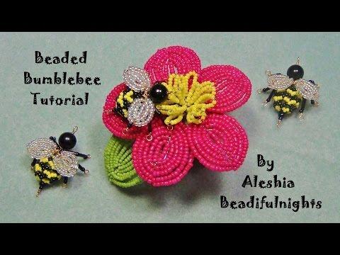 Beaded Bumblebee Tutorial