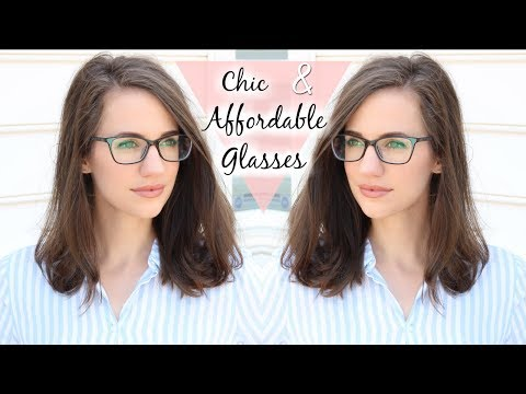 My New CHIC and AFFORDABLE Glasses + Vlog