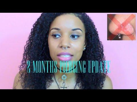 2 Months Nose Piercing UPDATE-