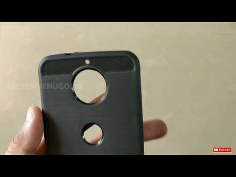 Moto G5s Plus Case Cover & Tempered Glass Unboxing.