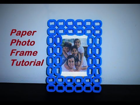 Paper Photo Frame Tutorial