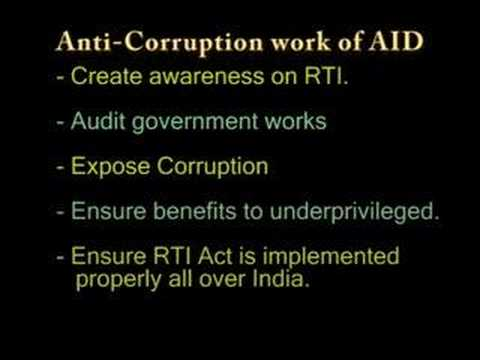 Fighting Corruption in India using RTI