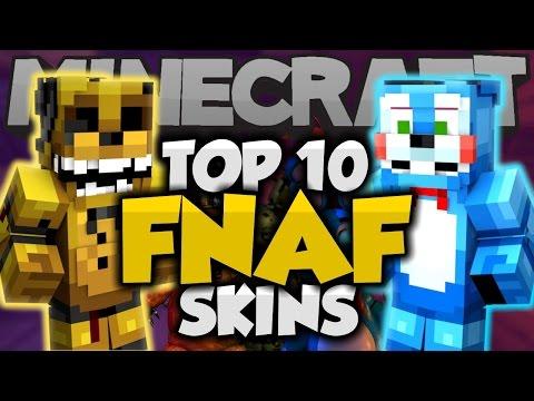 Top 10 Minecraft FNAF SKINS! - Best Minecraft Skins