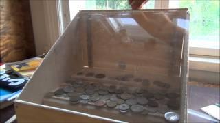 Homemade Coin Pusher