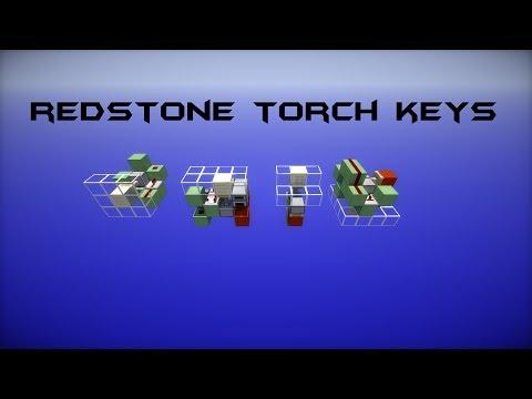 TUTORIAL: Redstone Torch Keys [Ceiling | Floor | Wall]
