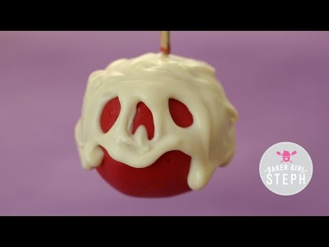 HOW TO MAKE POISON APPLE CAKE POPS FROM SHOW WHITE
