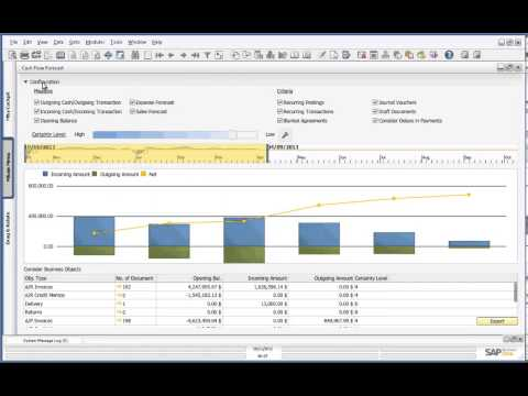 SAP Business One, version for HANA - Cash Forecasting Demo