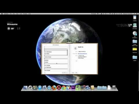 Sync Google Contacts with Mac OS X
