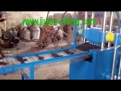Arab shisha charcoal tablet making machine