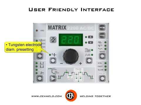 MATRIX 2200 HF - MATRIX 2200 AC/DC