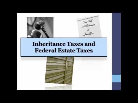 Indiana Inheritance Tax and Federal Estate Taxes