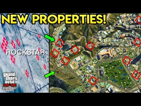 GTA Online: The Doomsday Heist - NEW Properties? Secret Marked Locations Explored!