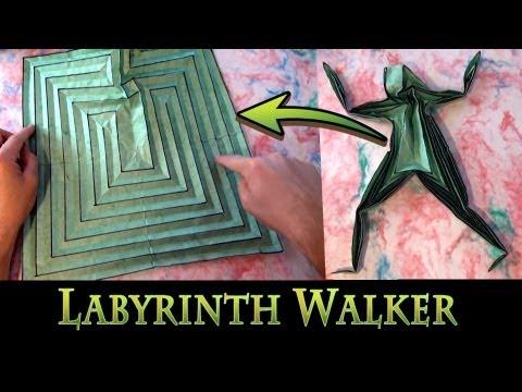 Origami Labyrinth Walker by Jeremy Shafer