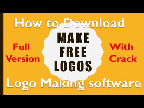 How to download logo making software full version with crack free and make free logos