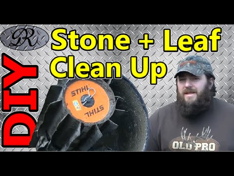 🍃 DIY Spring Clean Up Made Quick Easy | Stones and Leaves Cleaned Up Fast