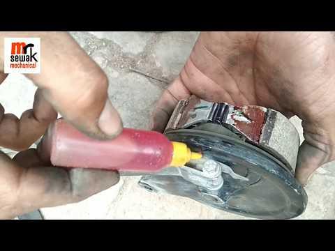 How to change bike break shoes only 5 minutes में अपने बाइक की ब्रेक सही करें at home