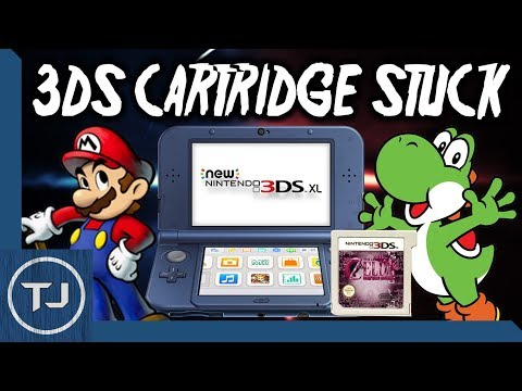 Remove A Cartridge Stuck In 3DS/2DS!