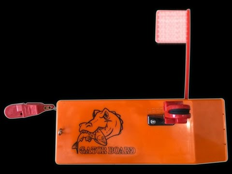 Gator Bait Tackle In-Line Planer Board Review