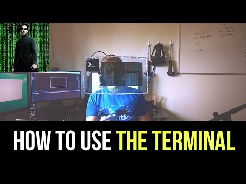 How to use THE TERMINAL - Windows 10