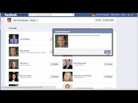 How to Manage Facebook Friends List