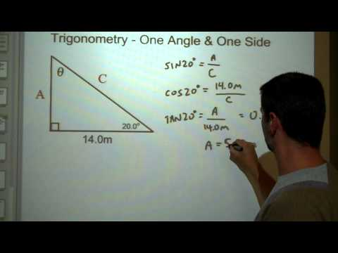 Trig one side one angle