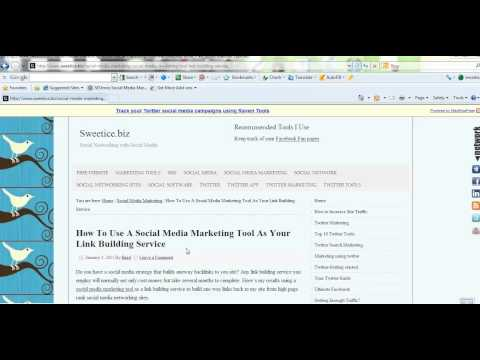 How To Get 25000 Qaulity Backlinks Using a Social Media Marketing Tool