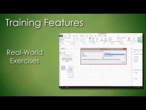 Online Excel 2013 Training Course