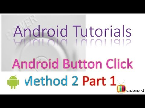 16 Button Click Event in Android |