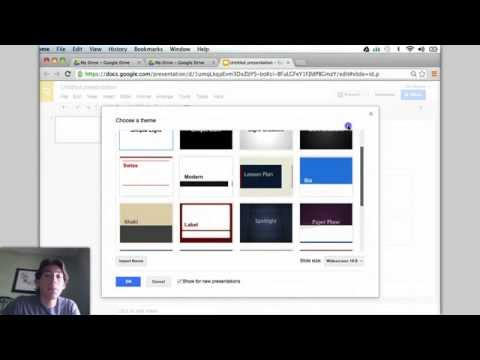 How to Make a Powerpoint Using Google Drive