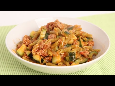 One Pot Pasta with Sausage & Zucchini - Laura Vitale - Laura in the Kitchen Episode 903