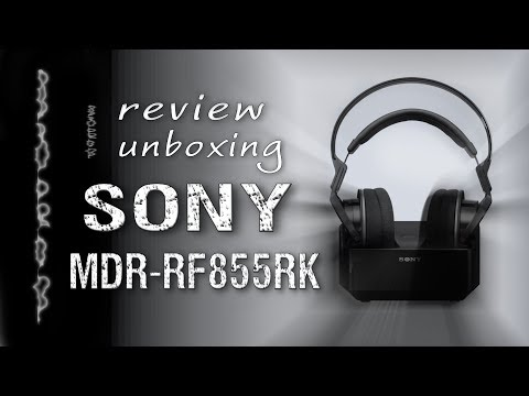 Auriculares Sony MDR RF855RK   Unboxing   Review