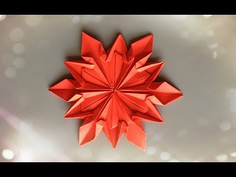 ABC TV | How To Make Paper Snowflake  - Origami Craft Tutorial