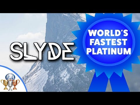Slyde - World's FASTEST PS4 Platinum Trophy - Less Than 1 Minute - Easiest Platinum Ever