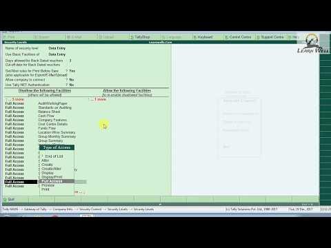 Tally ERP9 GST Ready 6.3 Basics