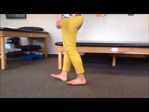 Heel Walking. Fix Shin Splints. Strengthen Your Feet