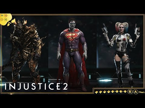 INJUSTICE 2   Skin do Bizarro e novas tonalidades: Torneio e Electro