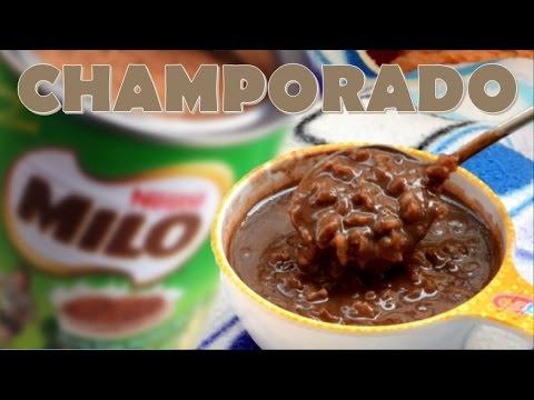Best Filipino Milo Champorado (Rice Porridge) | It's More Fun in the Kitchen